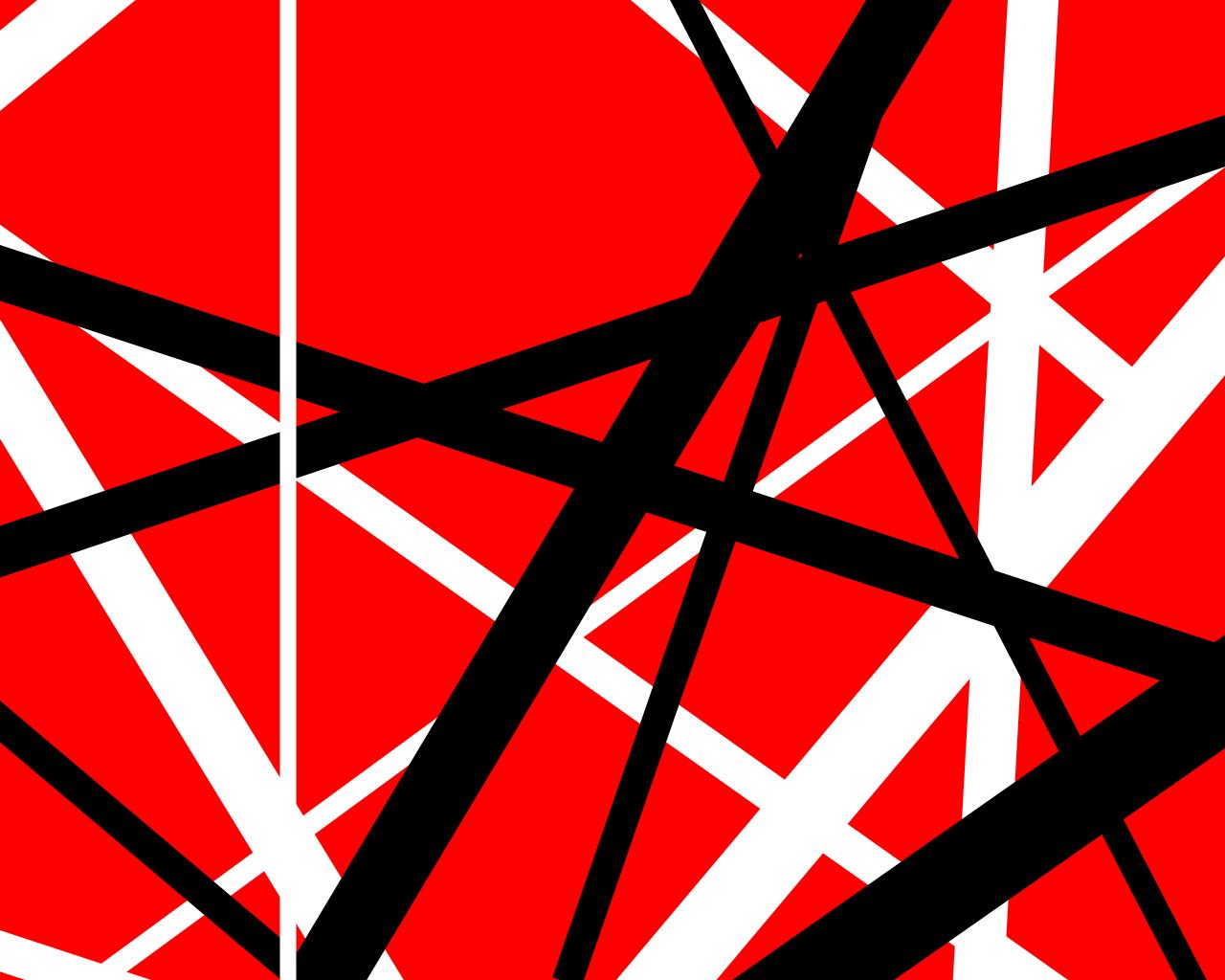 Van Halen Wallpapers  Van halen Black abstract 1280x1024