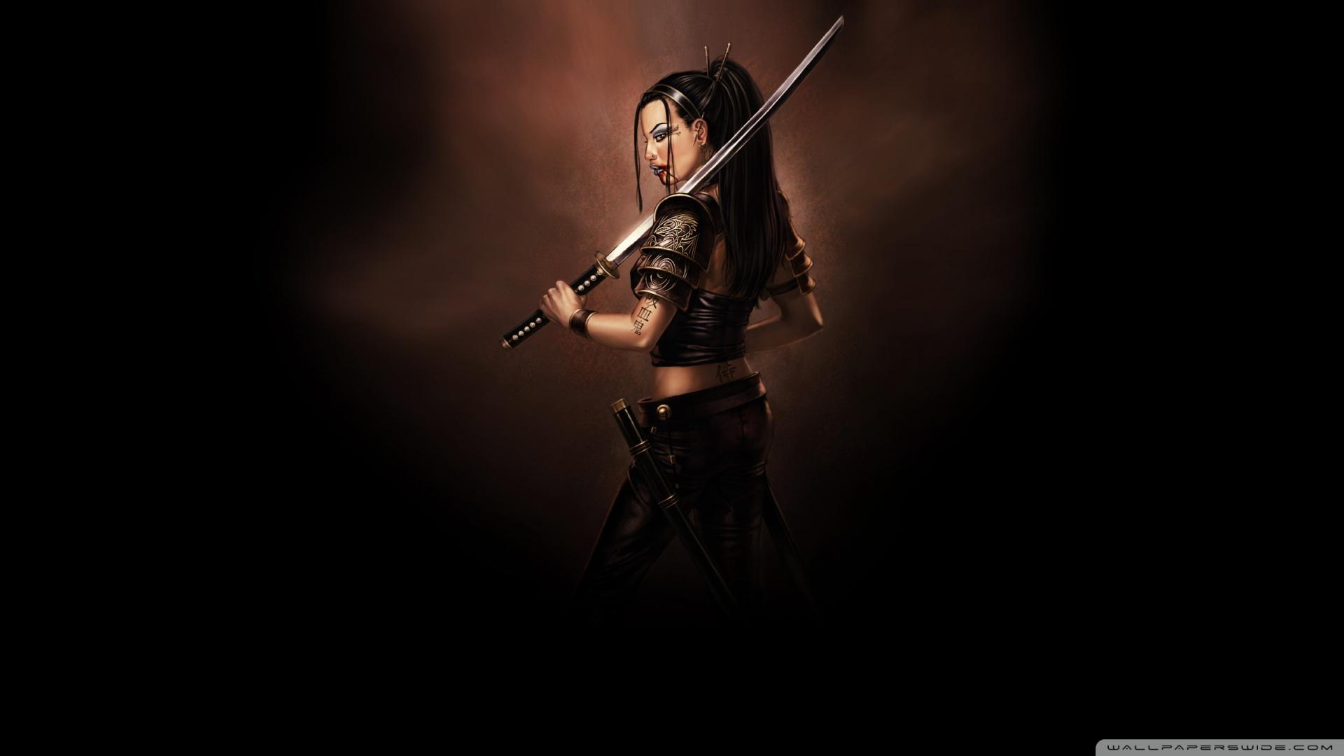Free Download Samurai Sword Wallpaper 1920x1080 Samurai