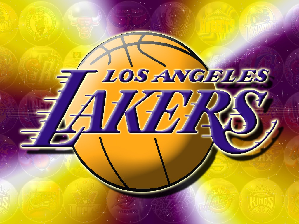 Lakers Logo On Wallpapers Wallpaper 1024x768