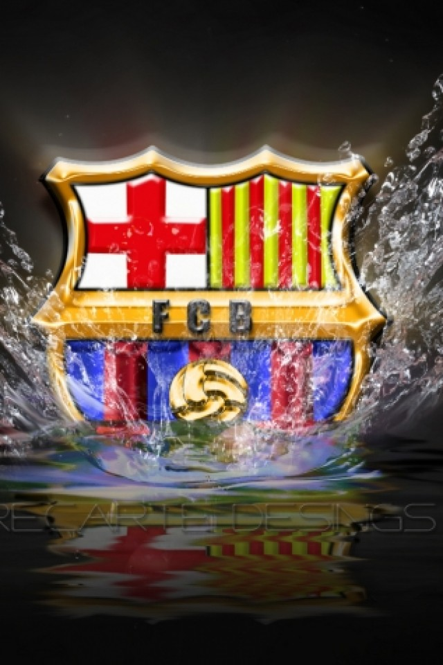 Barcelona FC iPhone wallpaper 640x960