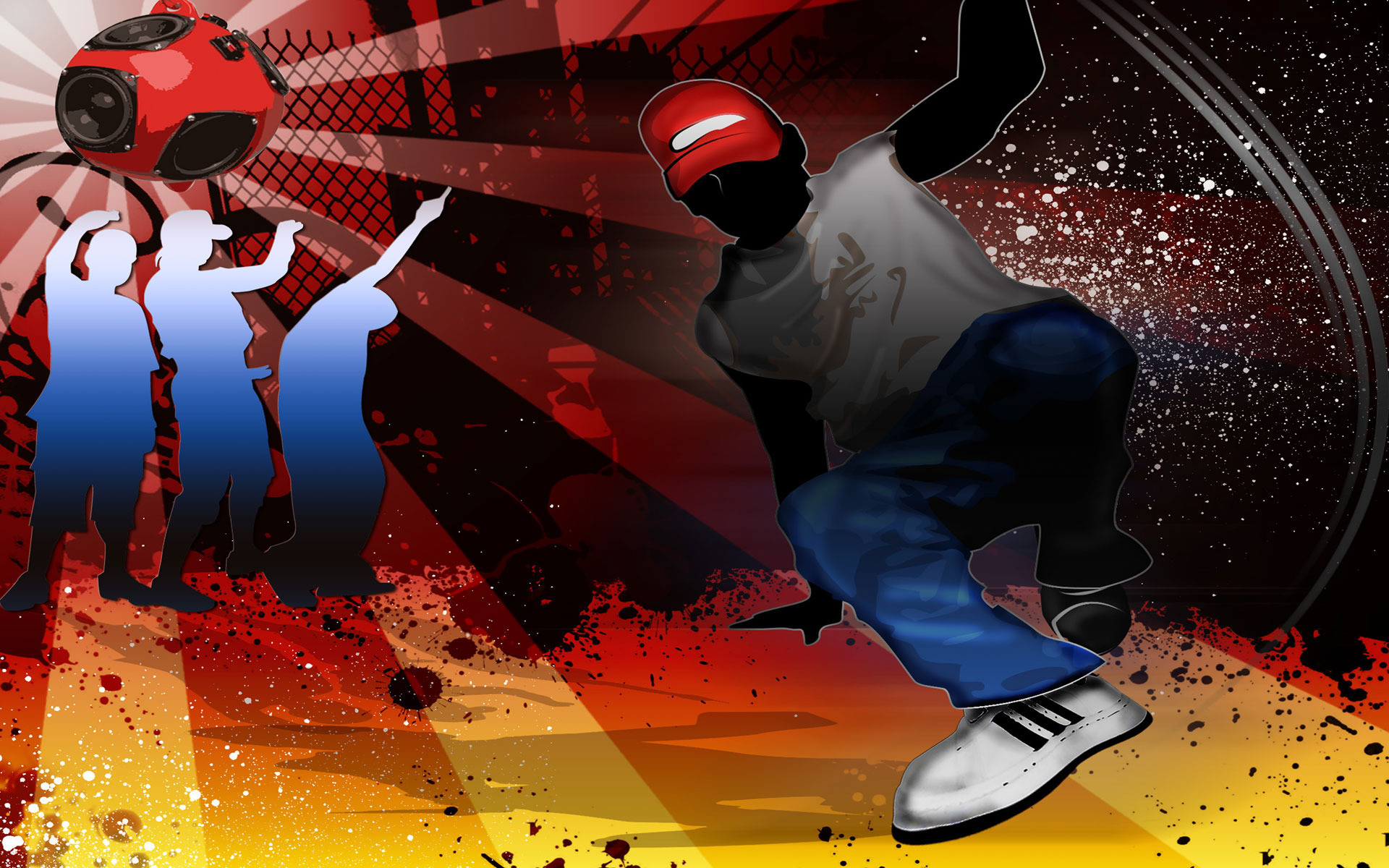 Hip hop dancer wallpaper 1813 1920x1200