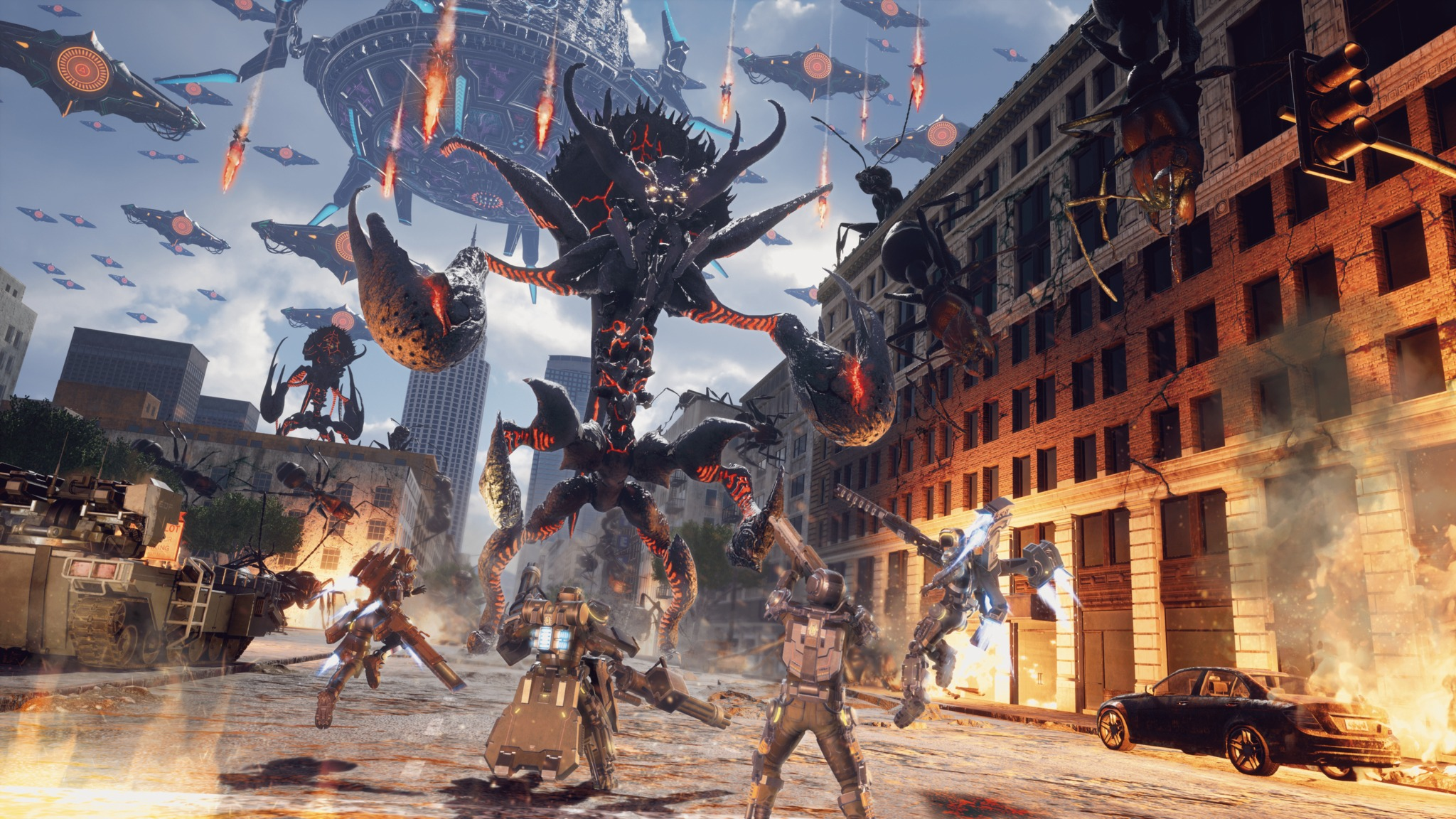 Review Earth Defense Force Iron Rain Misfires After a 2048x1152