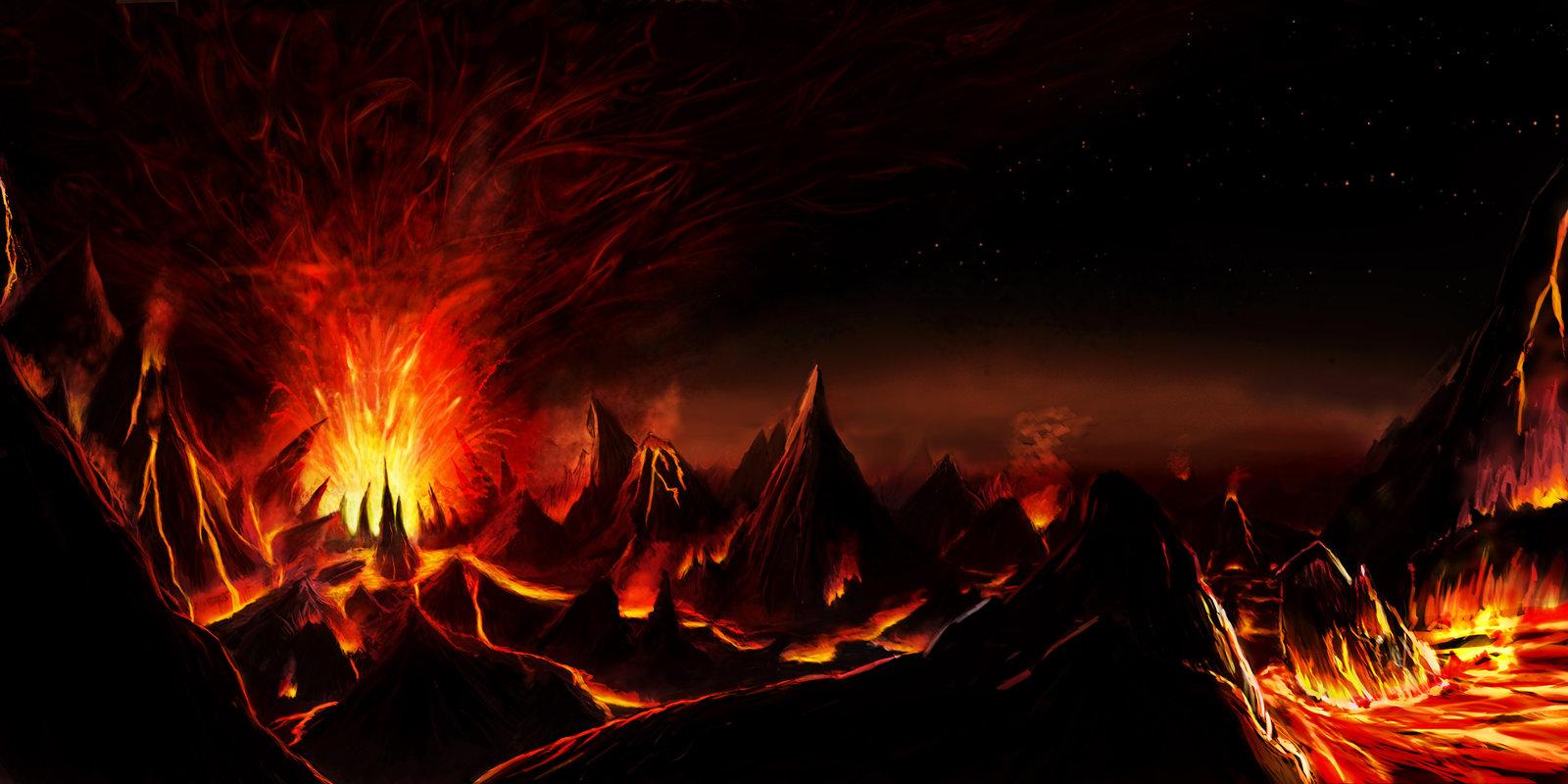 Hell Surfacing   Background by FirebornForm 1600x800