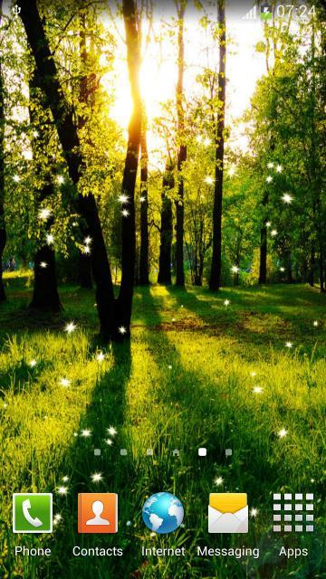 Free Download Forest Live Wallpaper Android Wallpaper