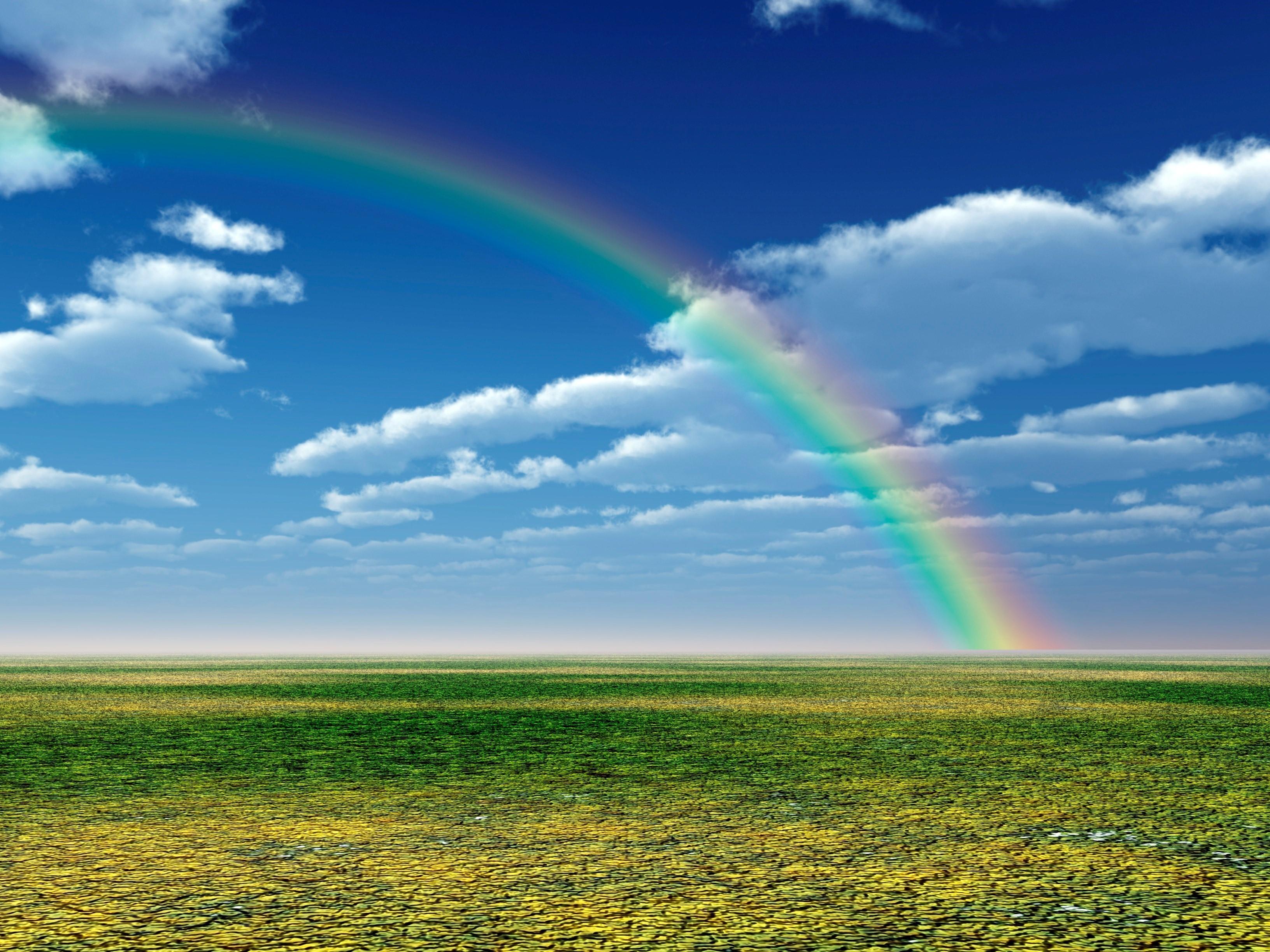 Beautiful Natural Rainbow Wallpaper HD Wallpapers 3264x2448