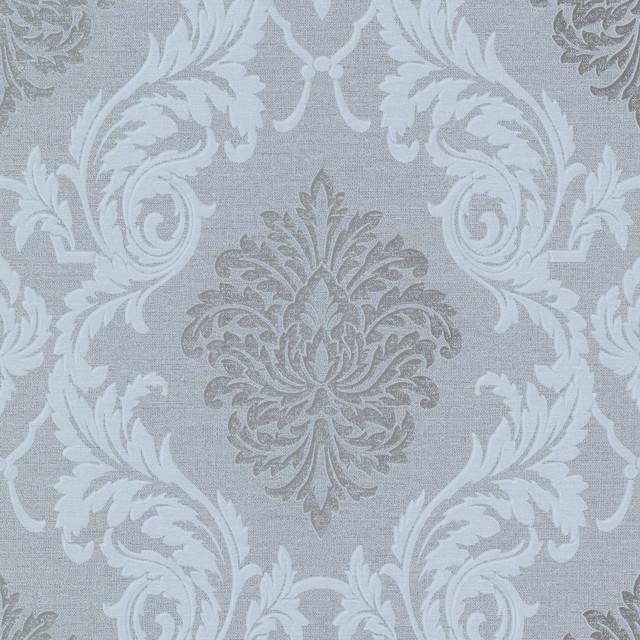 Modern Damask Print Wallpaper A truly high fashion wallpaper 640x640