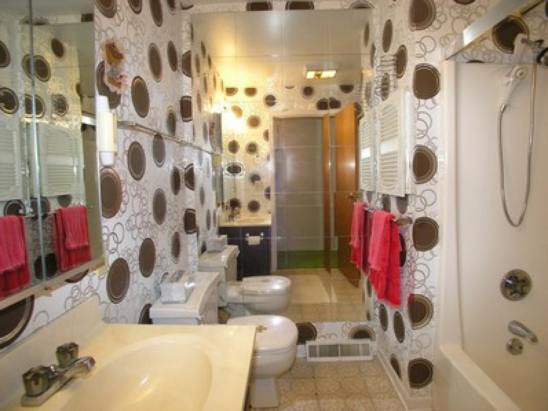 Bathroom Wallpaper Ideas Decoration Industry Standard Design 1440x1081