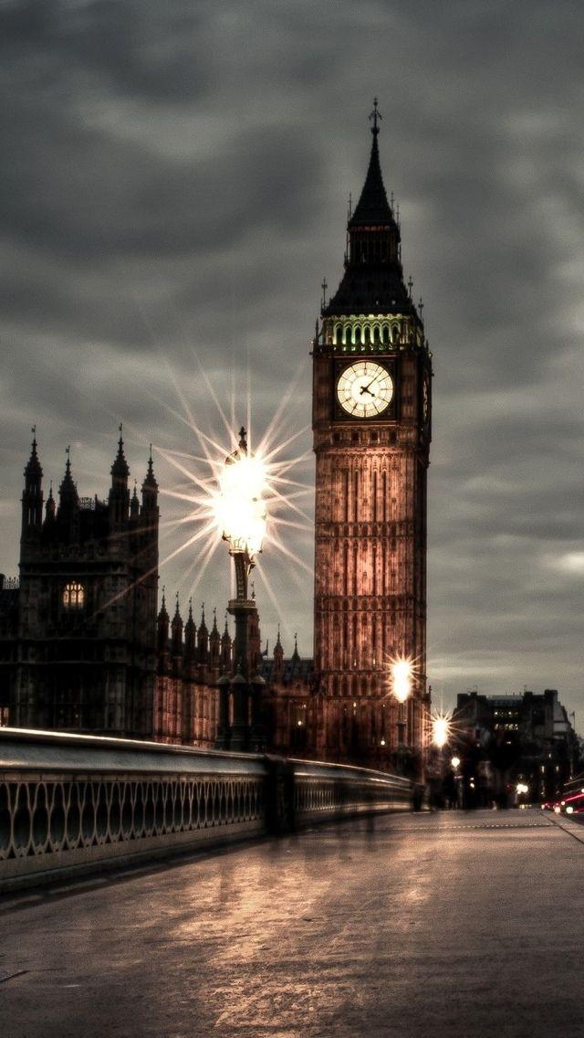 Tower Night London View iPhone 5 wallpaper 6401136 London 640x1136