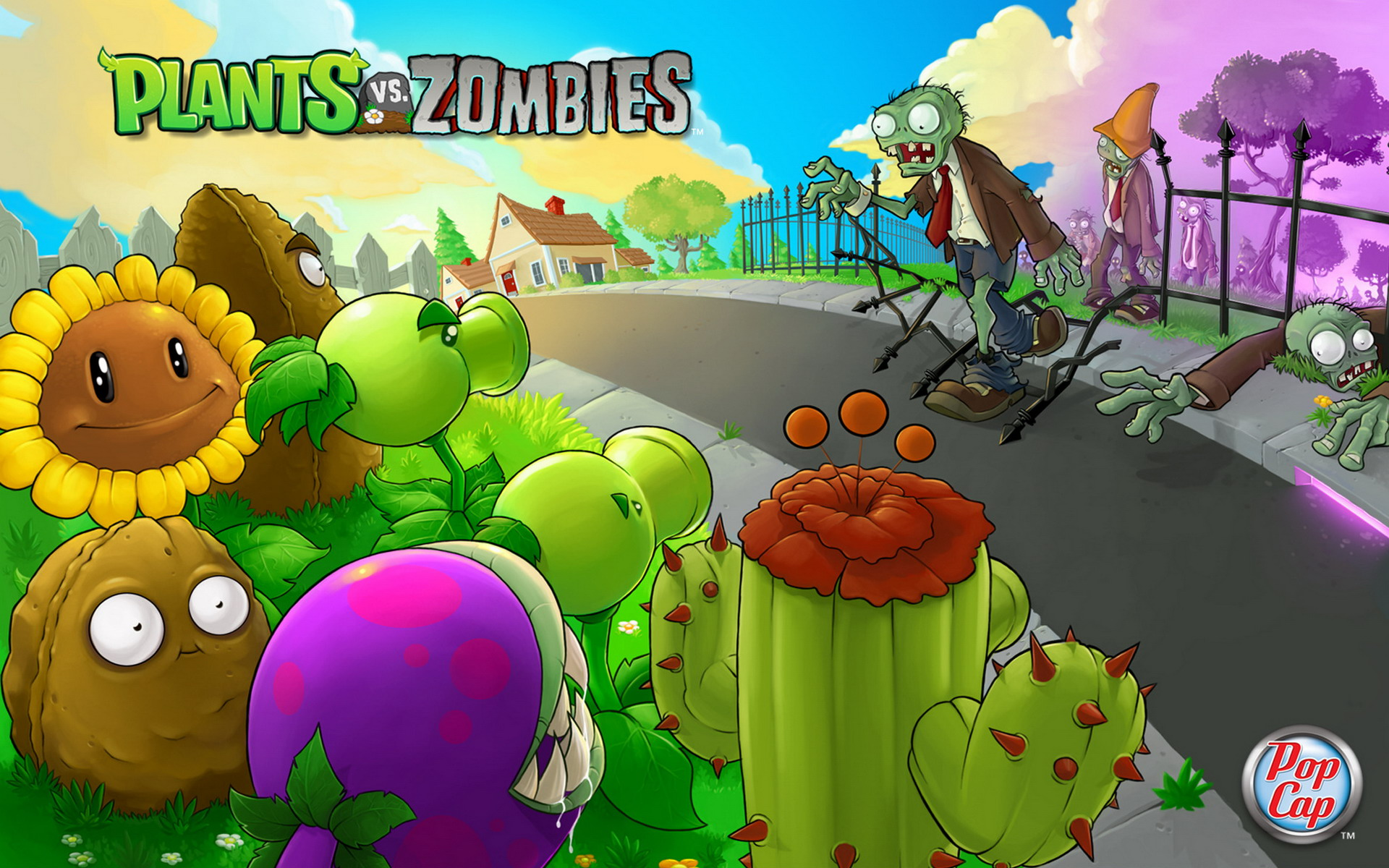Free Download Plants Vs Zombies Wallpapers Hd Wallpapers
