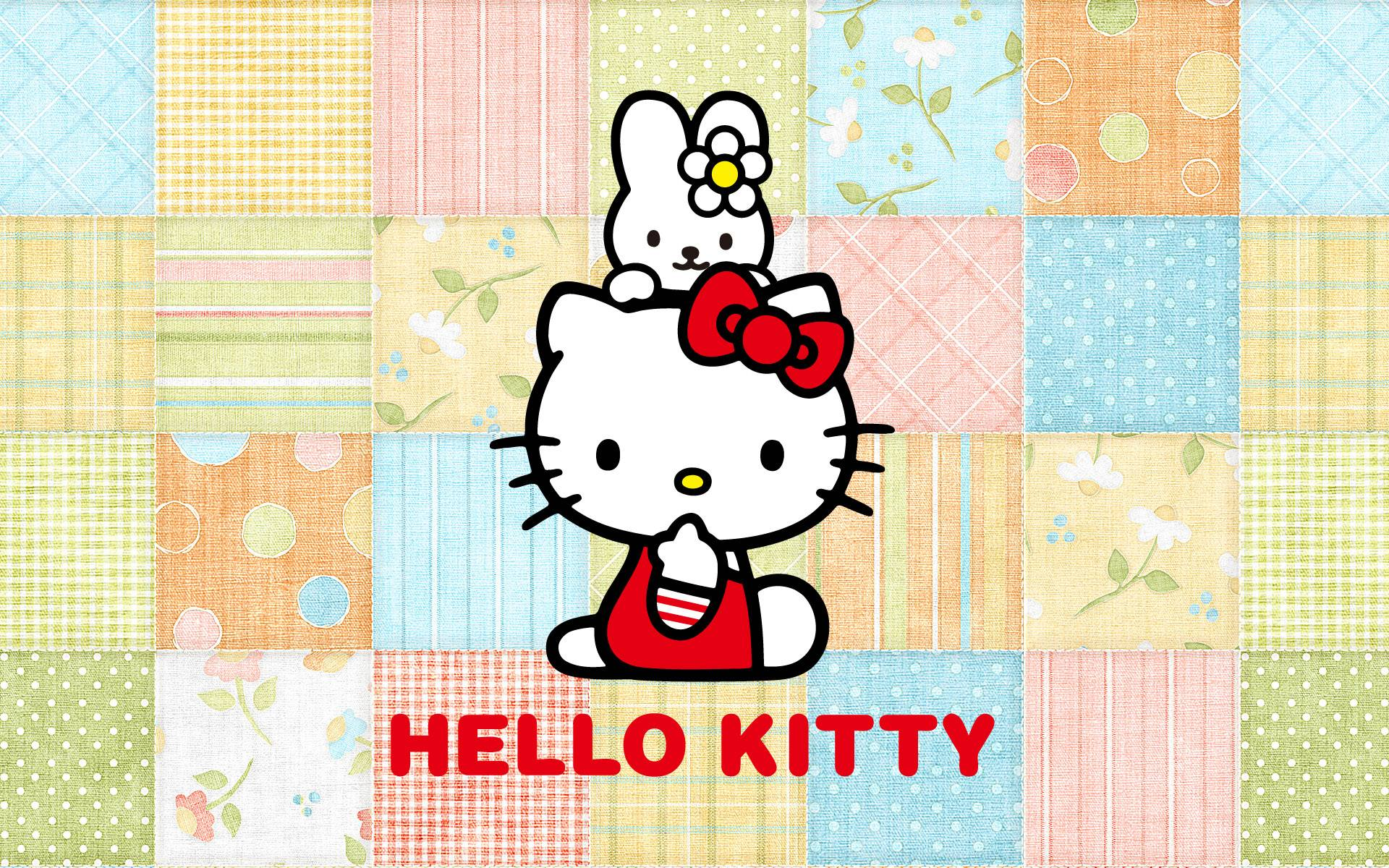 Hello Kitty Background Wallpapers WIN10 THEMES 1920x1200