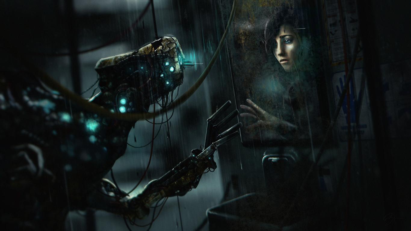 1366x768 soma creature robot 1366x768 Resolution Wallpaper HD 1366x768