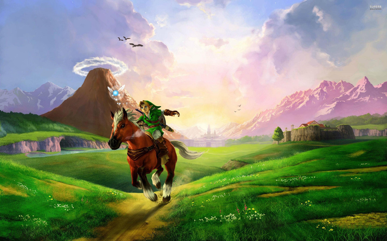 Free Download Zelda Ocarina Of Time Link Hd Wallpaper Background