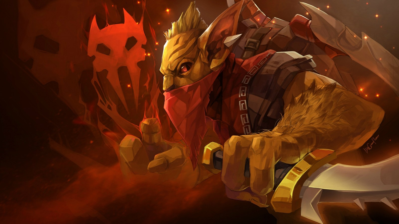 Wallpaper Abyss Explore the Collection Dota Video Game DotA 2 458779 1600x900