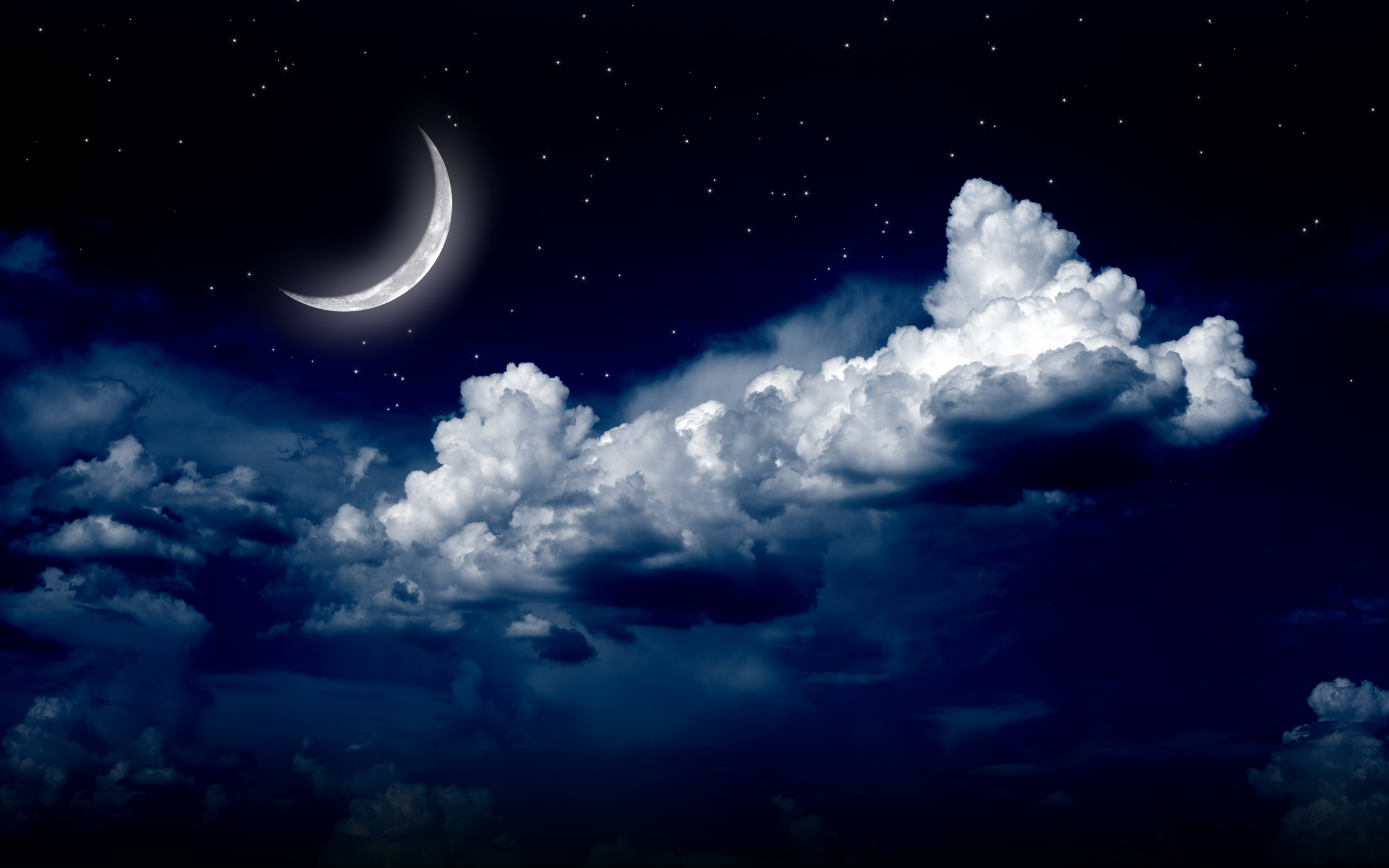Beautiful Night Sky Wallpaper