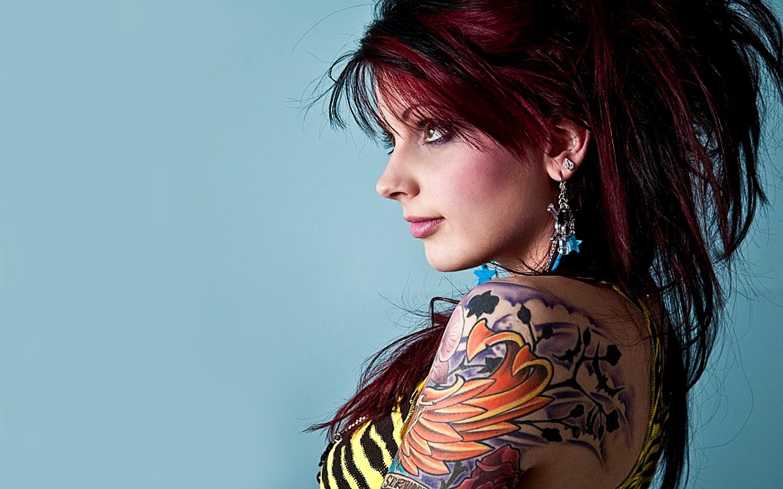Tattooed Women Wallpaper 1440x900