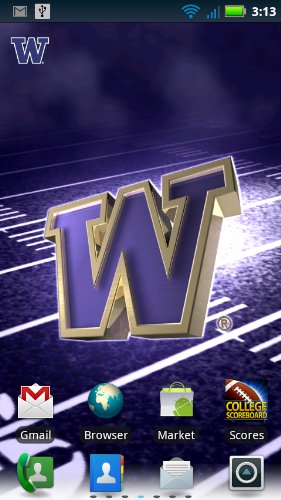 Washington Huskies Revolving Wallpaper   Amazon Mobile Analytics and 281x500
