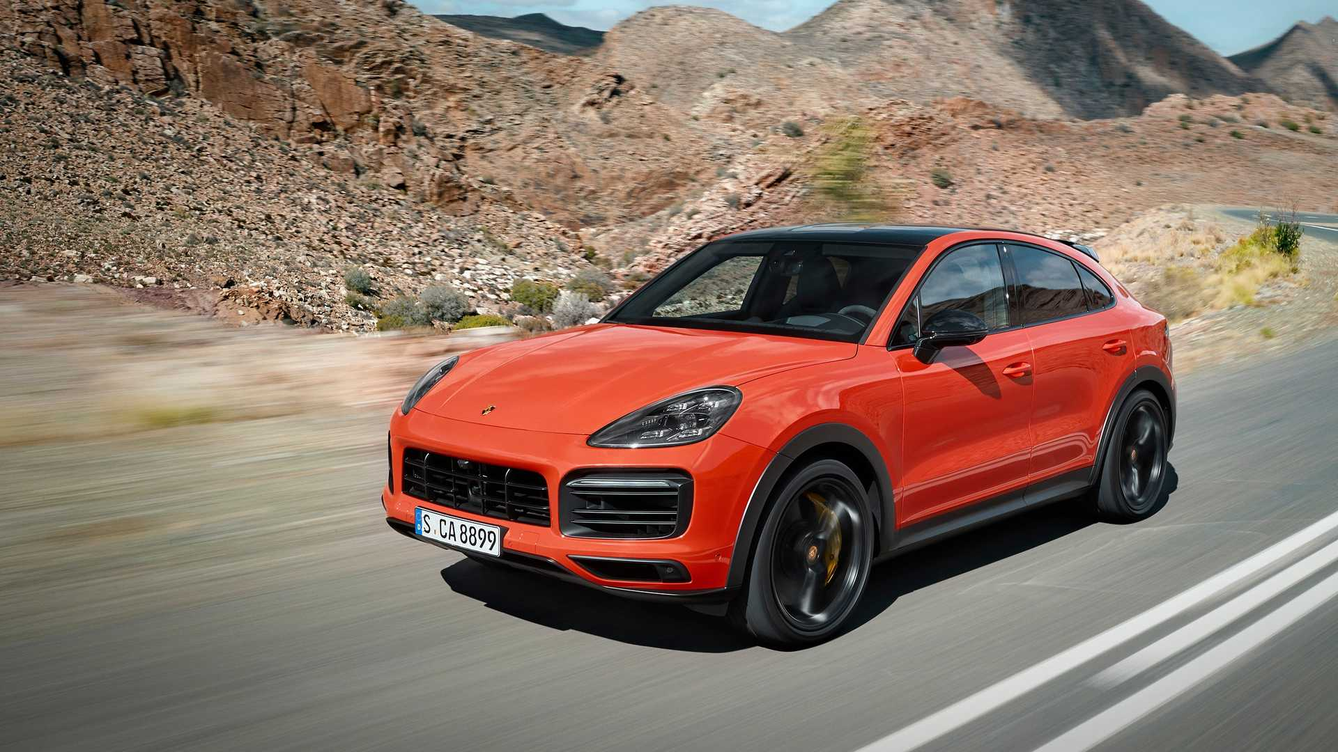 Porsche Cayenne Coupe Shows Unusual Shape In Videos Live Pics 1920x1080