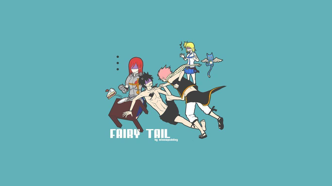 Fairy Tail Happy Wallpapers 1366x768