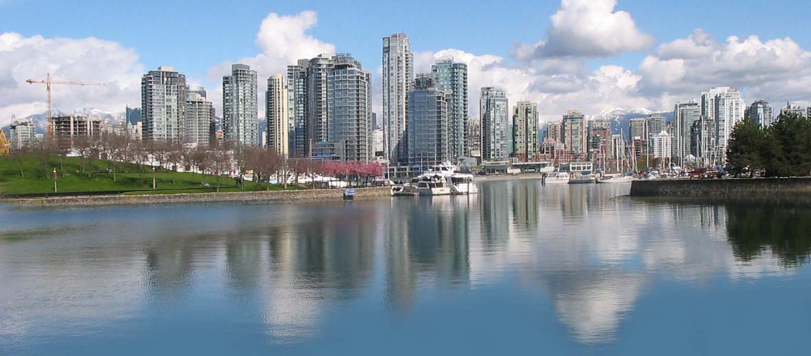Vancouver Skyline Pictures 1600x702