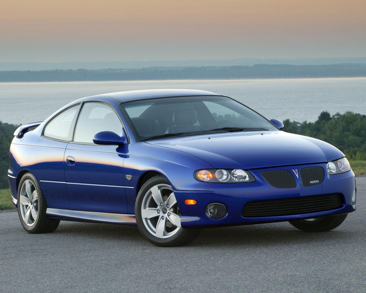 Pontiac GTO Coupe 57 V8   1280x1024 Wallpaper 1280x1024