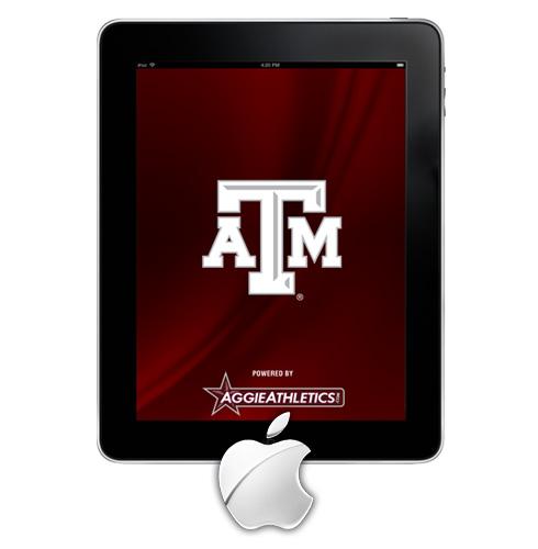 Texas AM Aggies iPad App 490x500