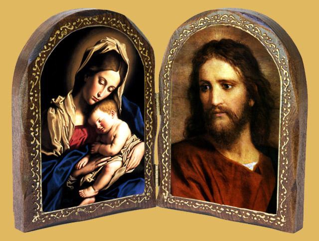 Catholic Wood Diptychs 640x485