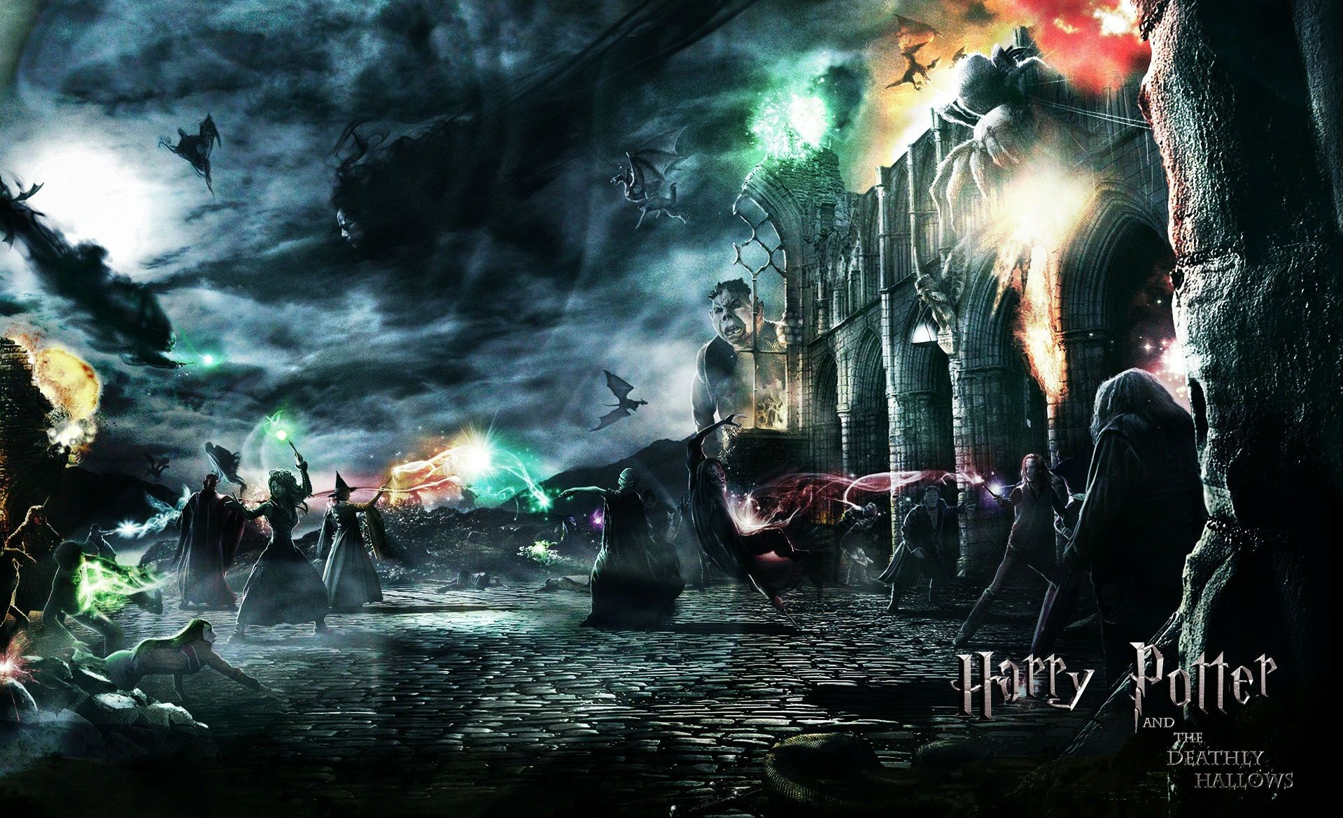 Ultra Hd Harry Potter Desktop Wallpaper 1919x1169