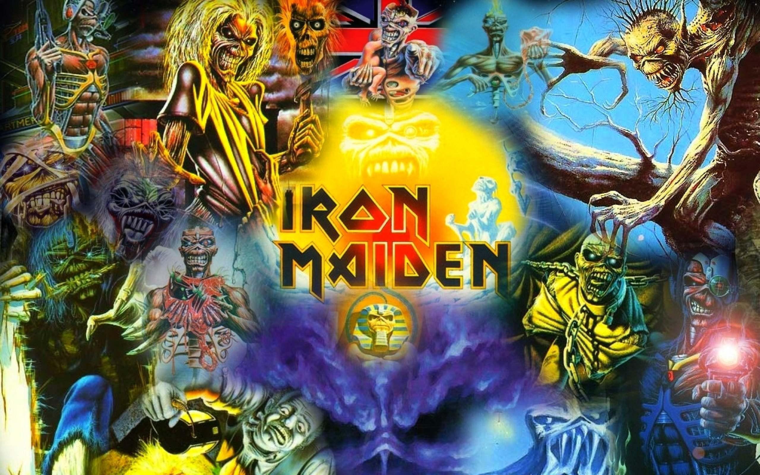 Eddie Iron Maiden High Quality Wallpaper For Desktop 2560x1600