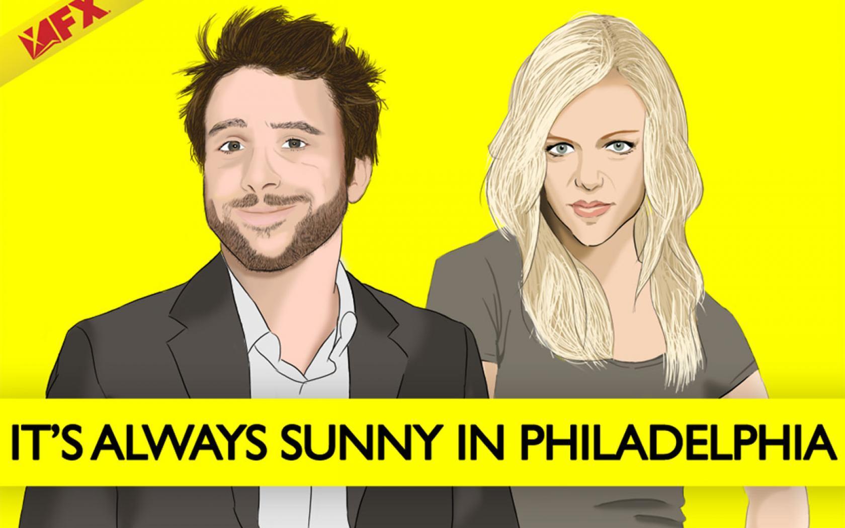 its always sunny in philadelphia yellow background #Qx1y