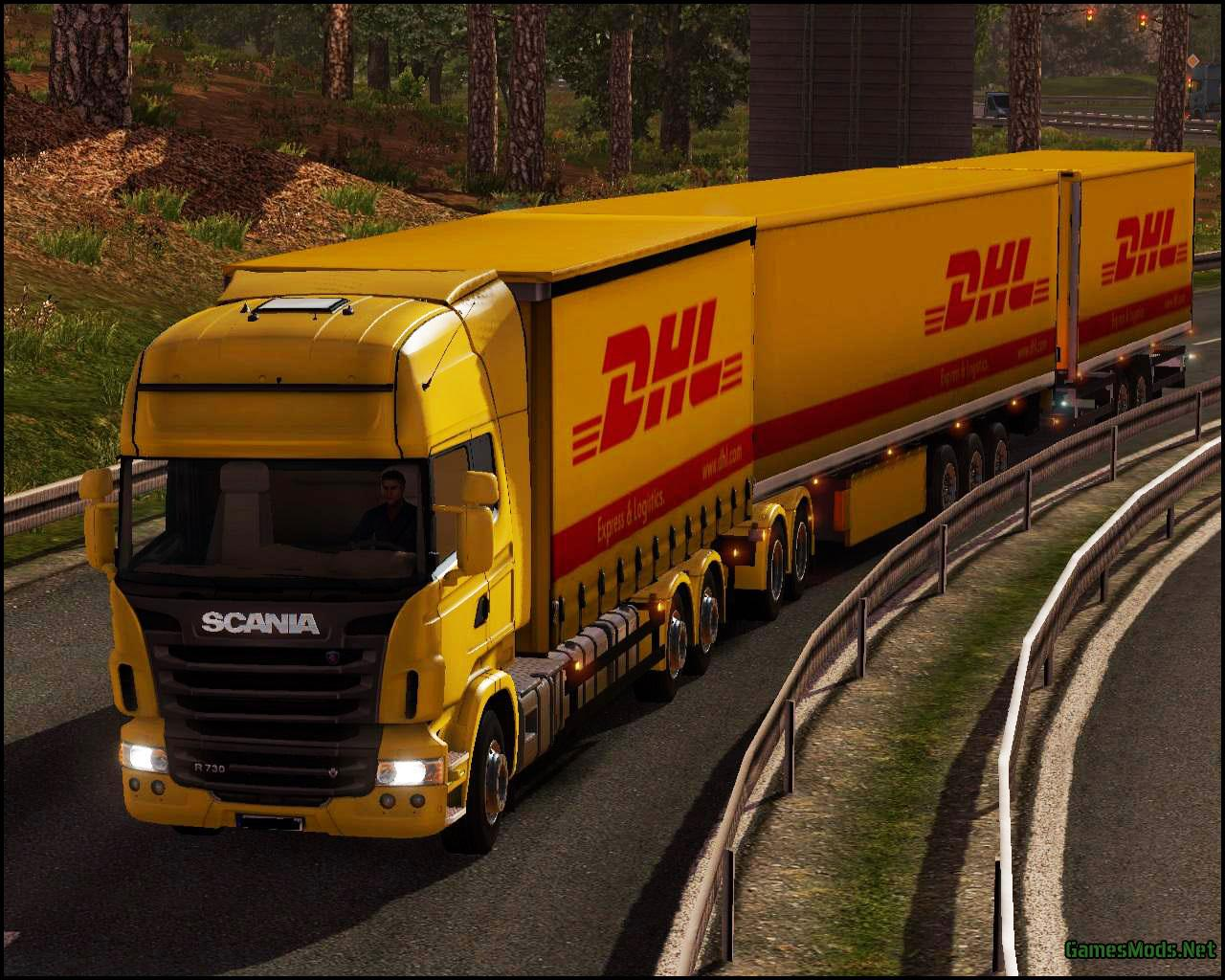 Dhl Wallpaper   Euro Truck Simulator 2 510394   HD Wallpaper 1280x1024