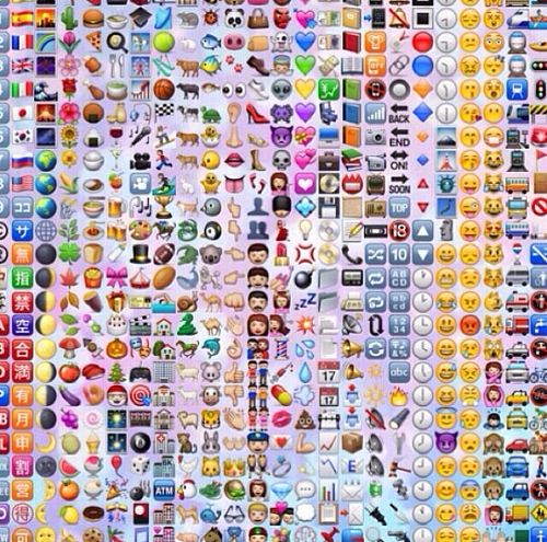 Emojii Background We Heart It emoji Dope Emoji Background Tumblr 500x495
