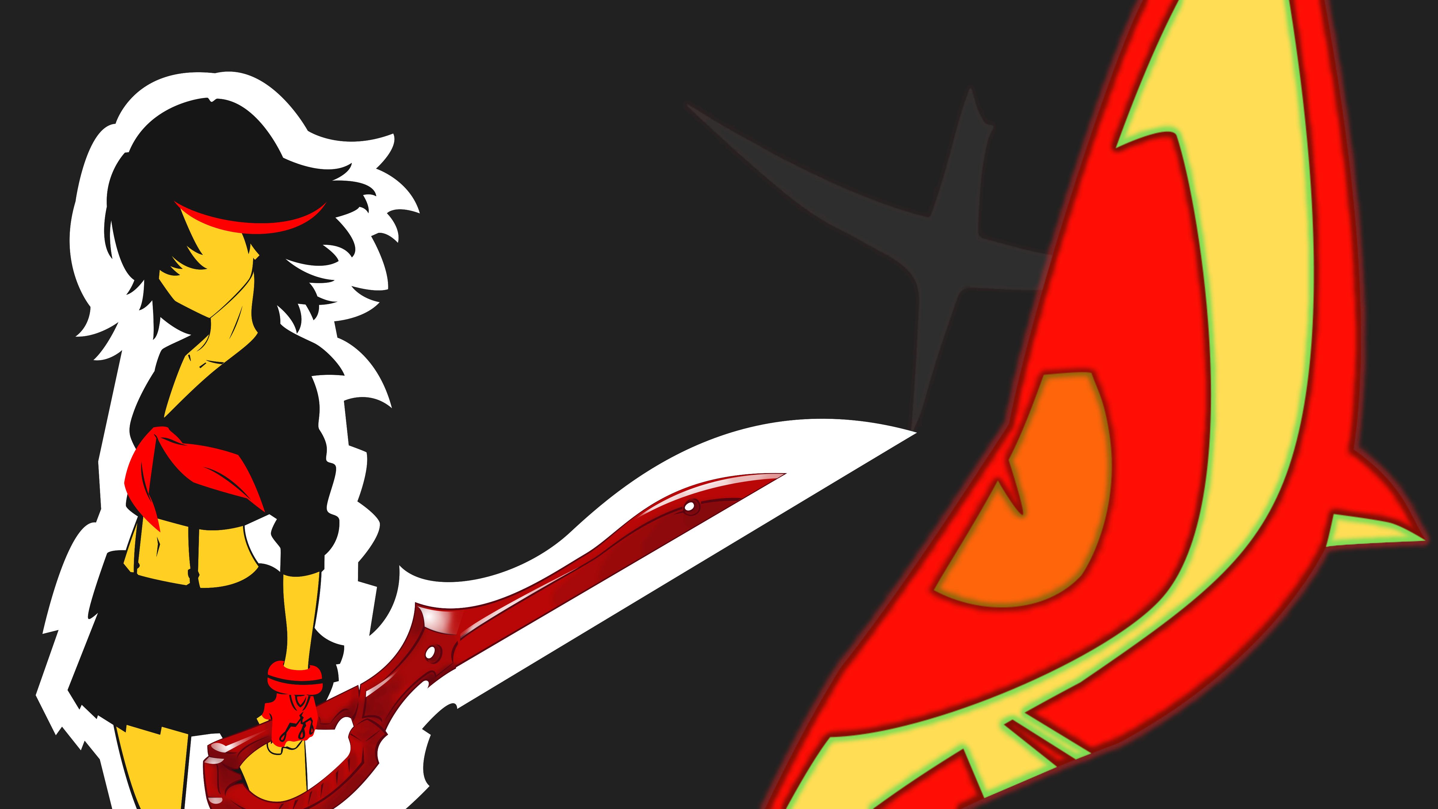 Kill la Kill Matoi Ryuko wallpaper   Kill la Kill wallpaper 4800x2700