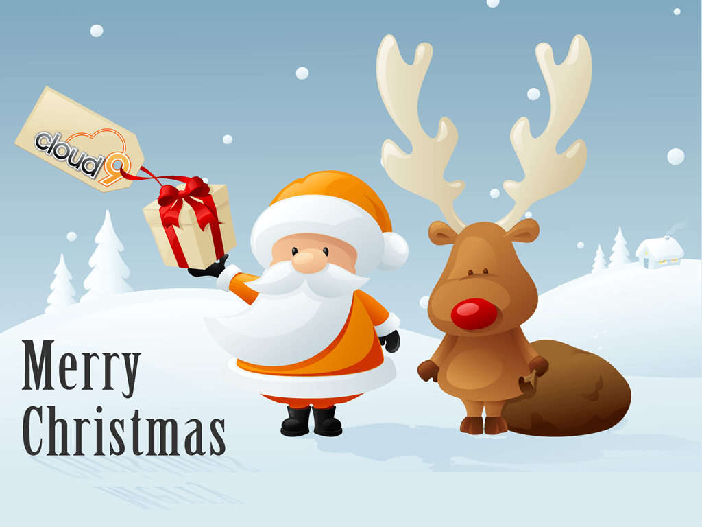 Funny Christmas Desktop Backgrounds 1024x768