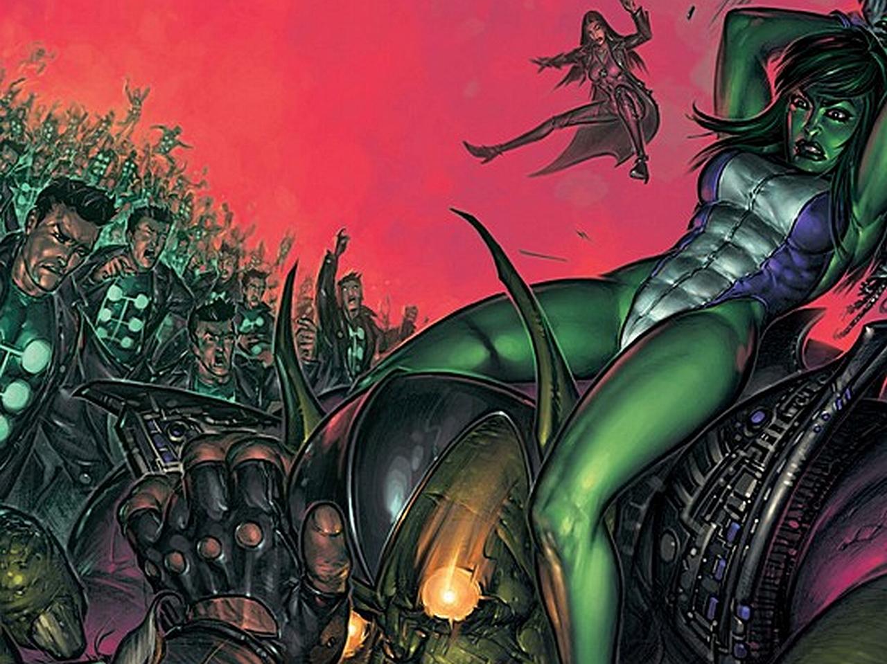 She Hulk Wallpaper Wallpapersafari