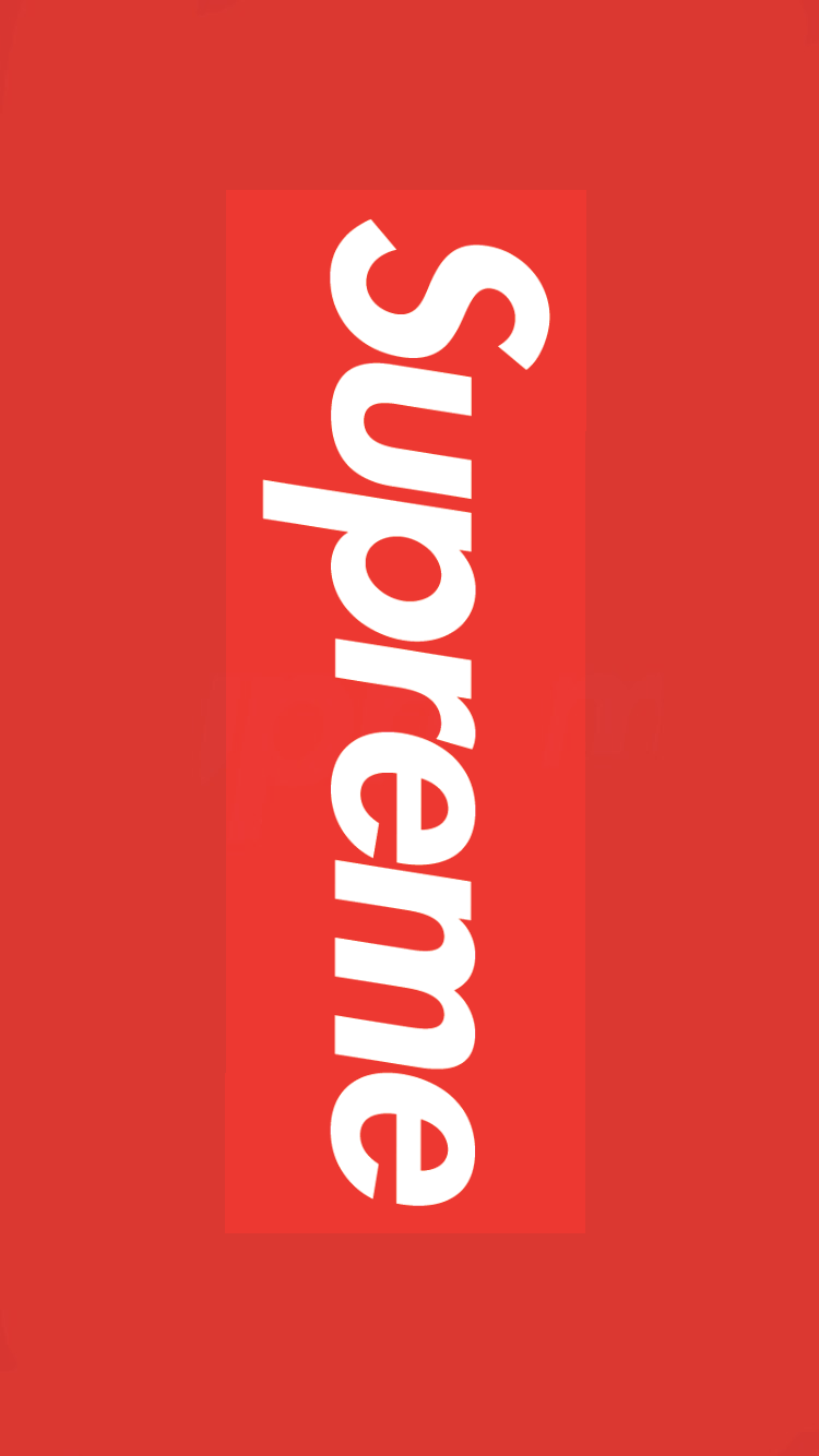 Supreme iPhone X Wallpapers   Top Supreme iPhone X 750x1334