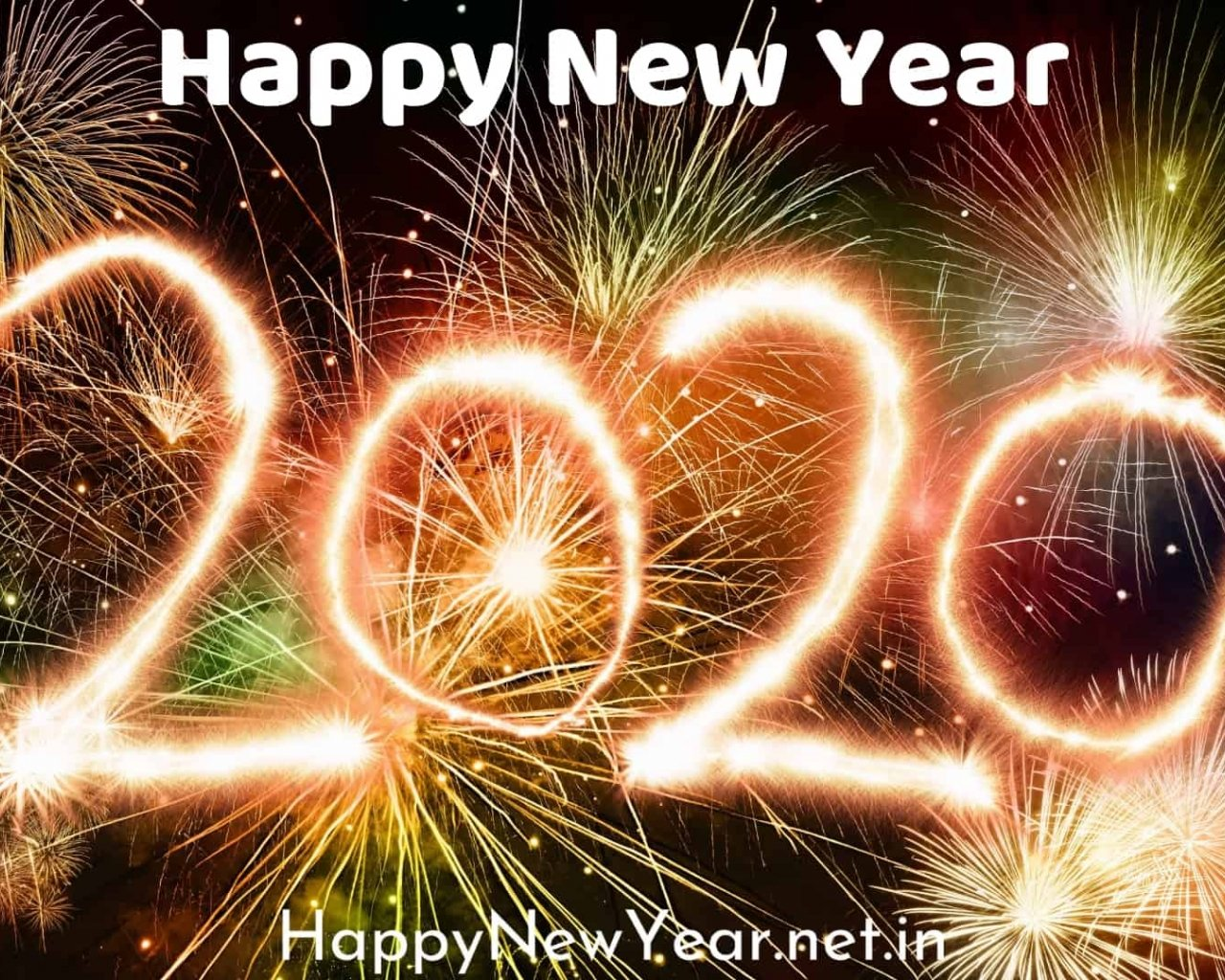 download Happy new year wishes for friends 2020 wallpaper 1280x1024