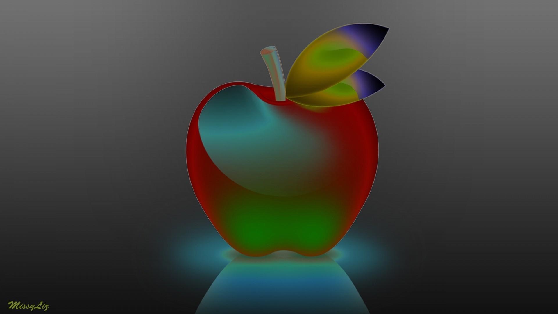 Картинки на рабочий стол айфон яблочко