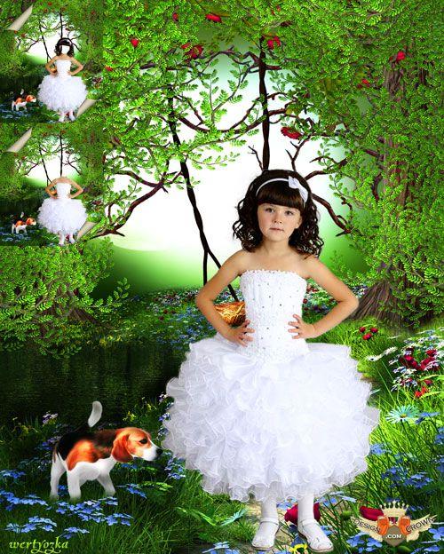 Beautiful Nature Girl Wallpaper: Girls Photoshop Wallpaper