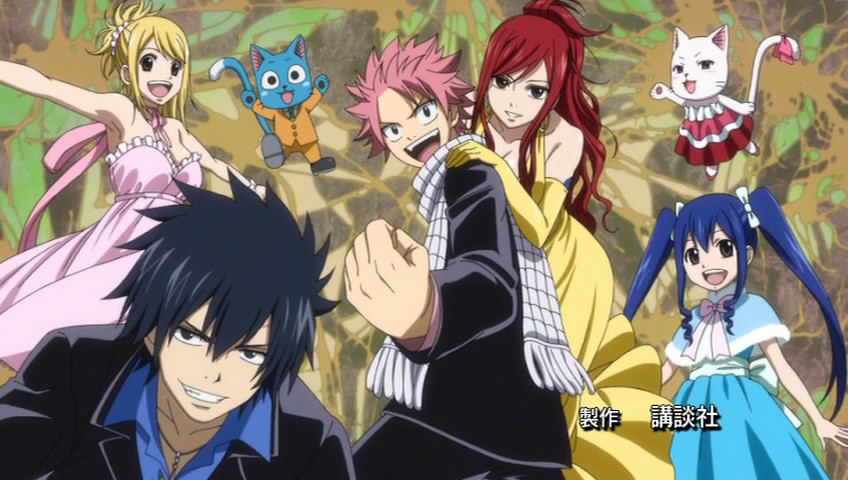 Gallery of Fairy Tail Team Natsu Photos and wallpapers to Browse 848x480