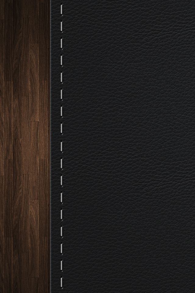 Leather Stitching   iPhone Wallpaper 640x960
