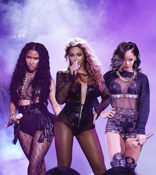 Nicki Minaj Vs Beyonce 2014