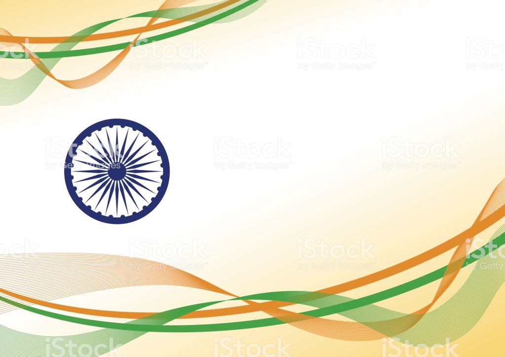 Vector India Independence Day Background Design With Copy Space 1024x724