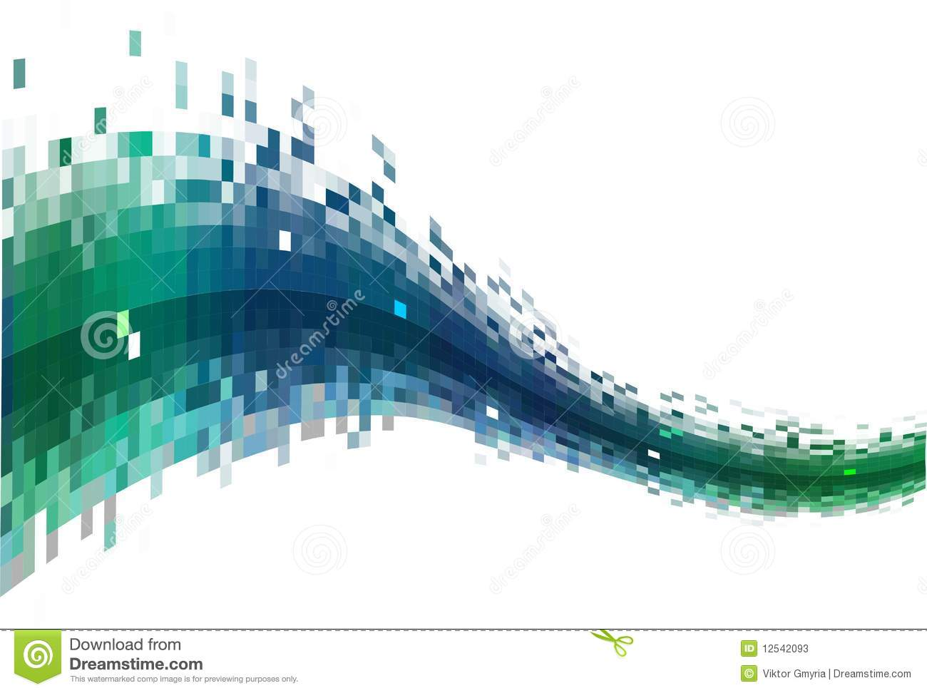 Abstract Data Stream Illustration 12542093   Megapixl 1300x972