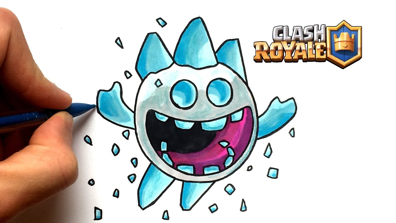 Clash Royale Ice Spirit Wallpapers Wallpapersafari