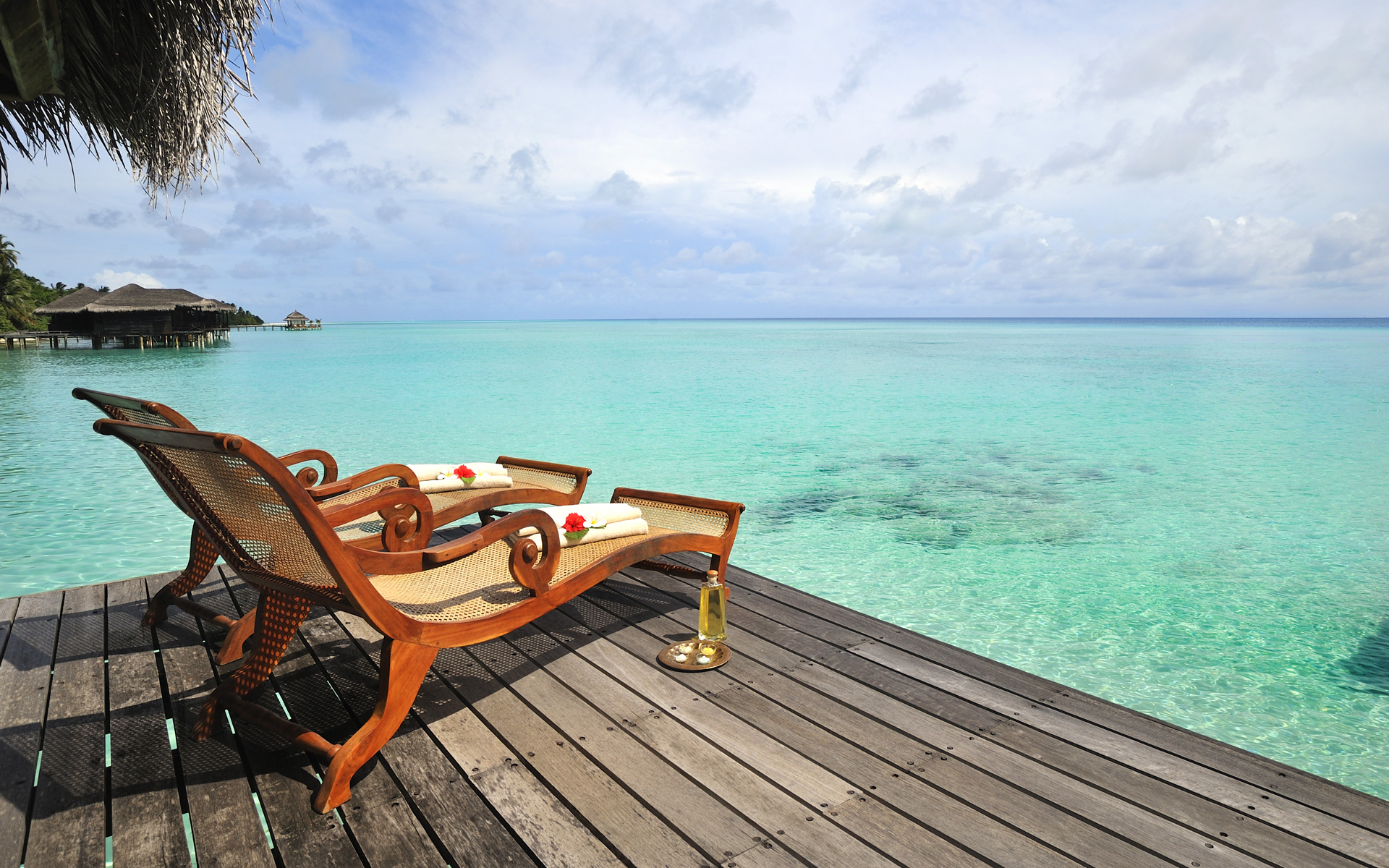 Kuramathi Island, Maldives wallpaper - Beach Wallpapers