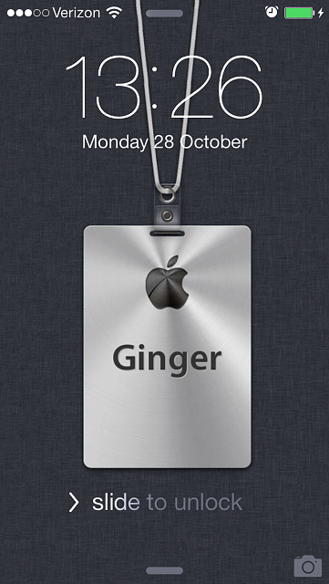 Show us your iPhone 5C LOCK Screen   iPhone iPad iPod Forums at 361x640