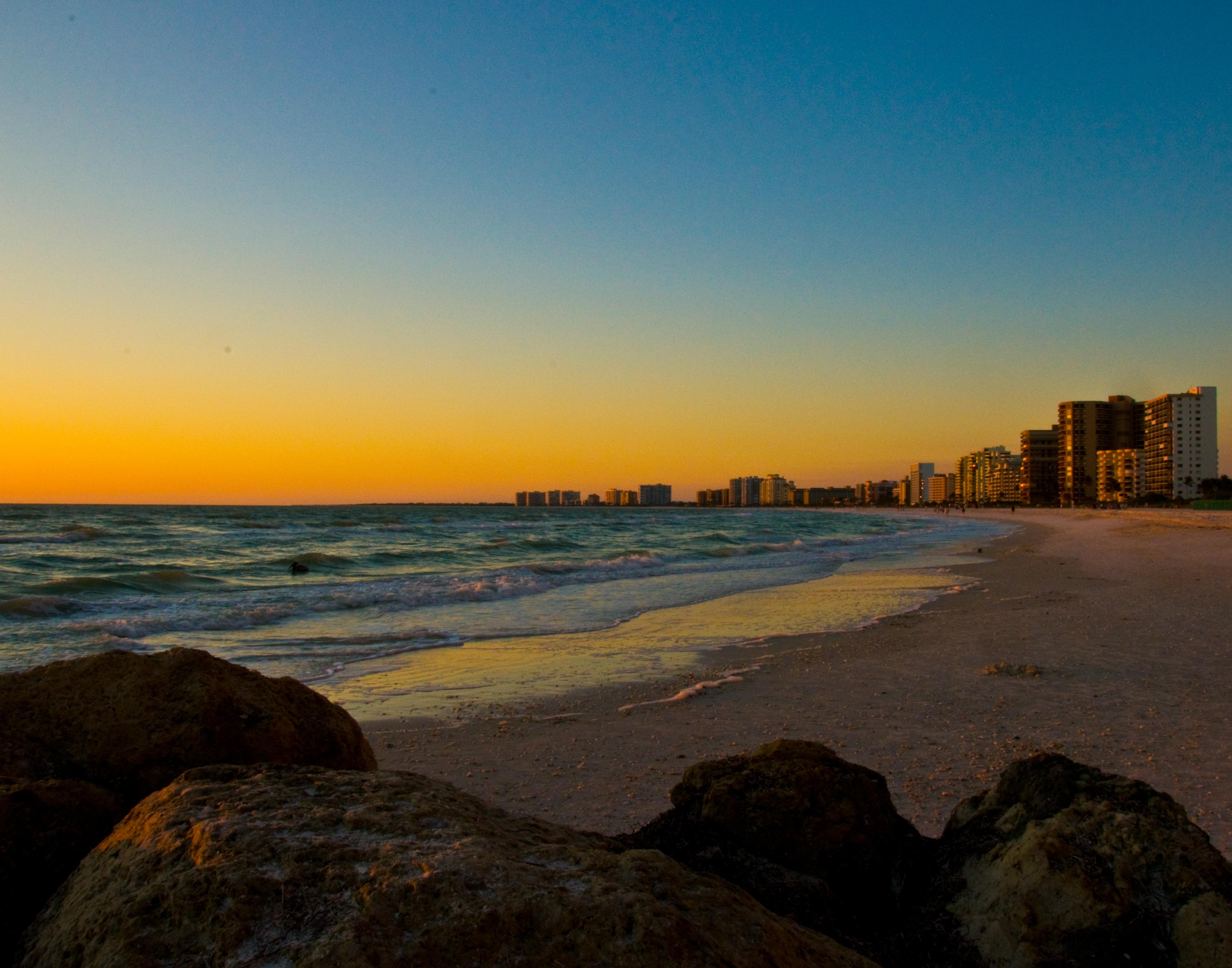 South Beach Sunset Marco Island 3625x2848