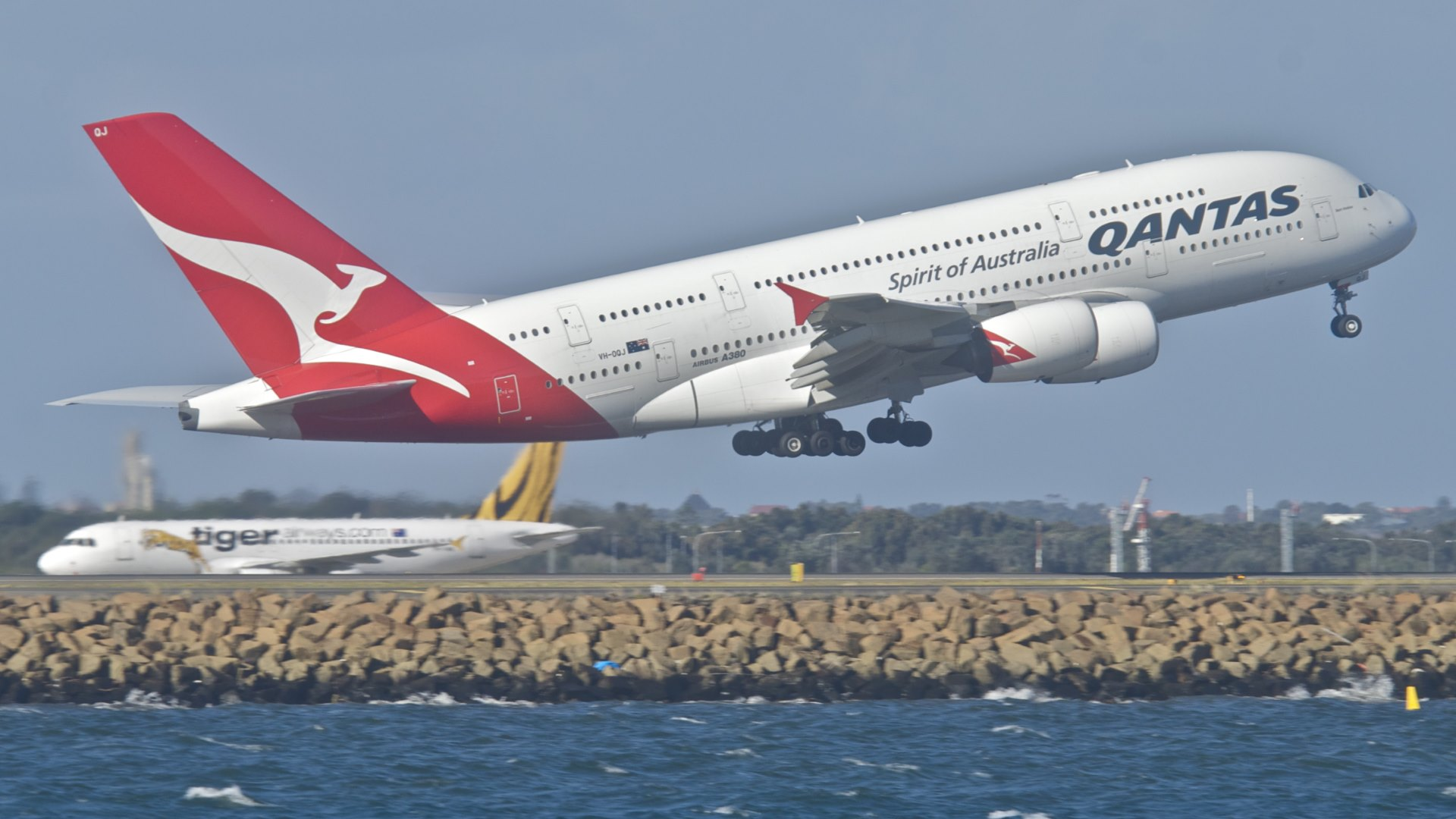 Qantas Airbus A380 842 Wallpaper 183 HD Wallpapers 1920x1080