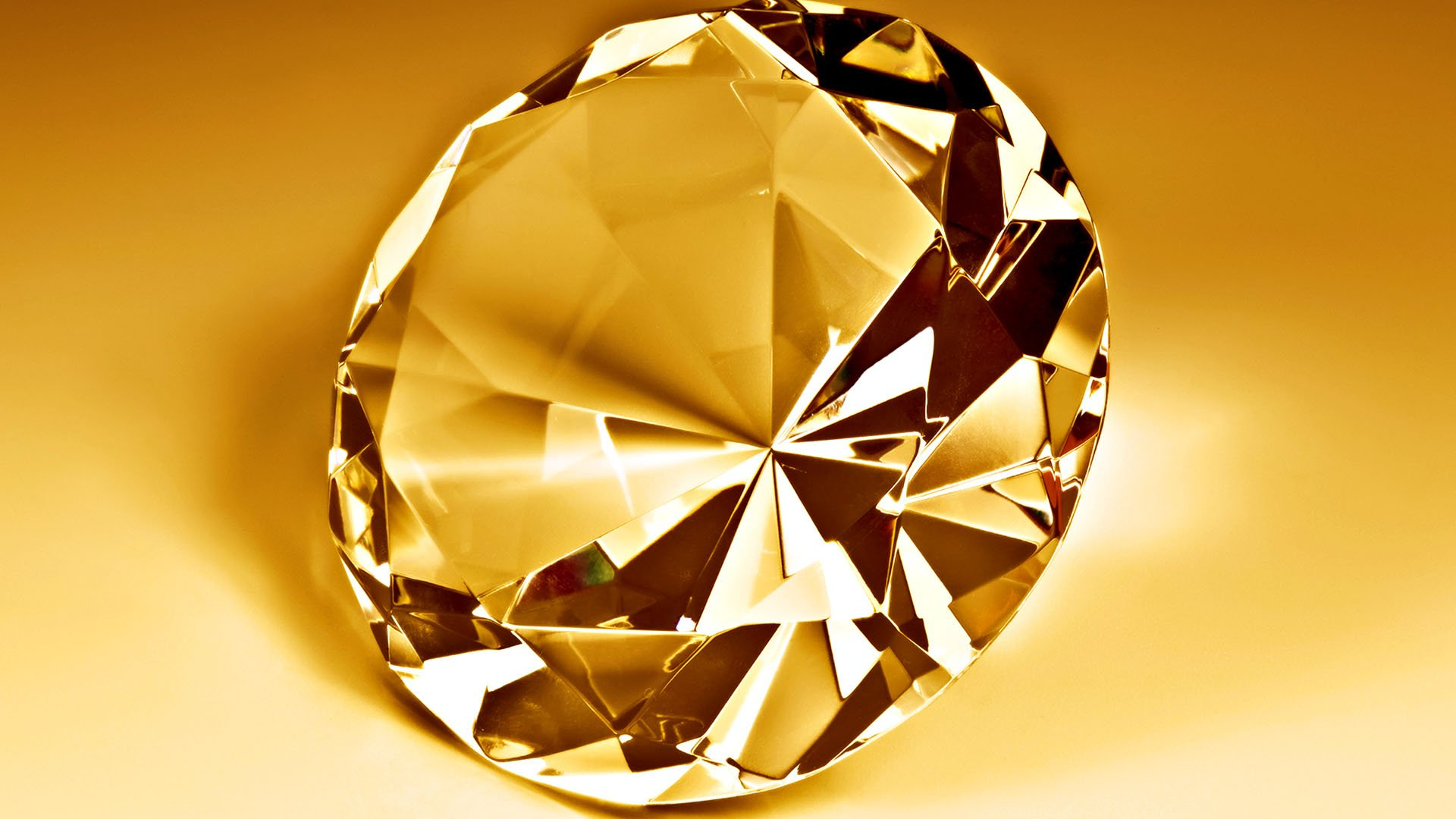 Gold diamond wallpaper wallpapersafari for Gold 3d wallpaper