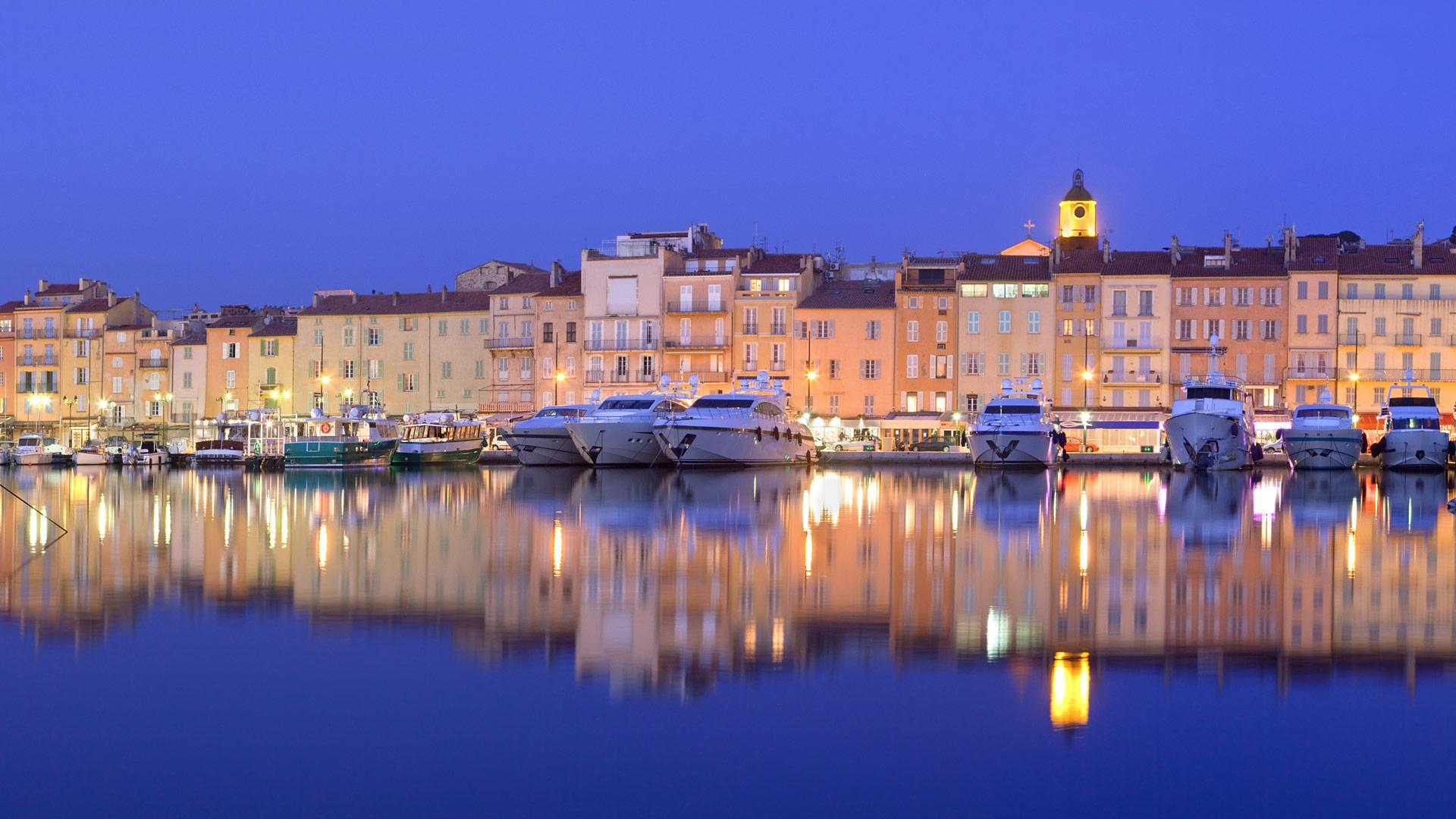 Saint Tropez Harbor Bing Wallpaper Download 1920x1080